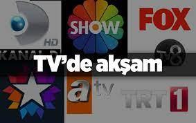 21 Mart 2020 Cumartesi kanalların güncel yayın akışları içerisinde bulunan  programlar belli oldu! FOX TV, ATV, KANAL D, STAR TV, TRT 1, SHOW TV VE TV8  21 Mart Cumartesi yayın akışı ortaya çıktı