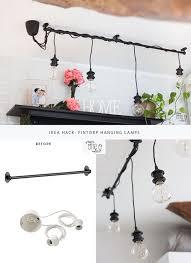 ikea lighting hack. Chandelier Ikea Hack Diy Hanging Lights One O From Lighting