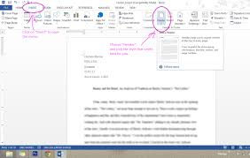 Mla Format Essay Header Date How To Cite An In Citing Paper Style