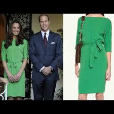 So when the duchess of cambridge stepped out in a white and navy printed wrap dress by diane von furstenberg while in winmalee, australia this. Diane Von Furstenberg Dresses Dvf Green Silk Dress Seen On Kate Middleton Poshmark