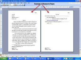 research essay example mla