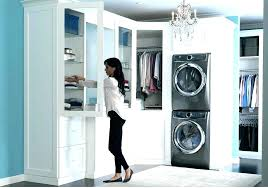 stackable washer and dryer closet ideas washer dryer closets closet washer and dryer washer and dryer