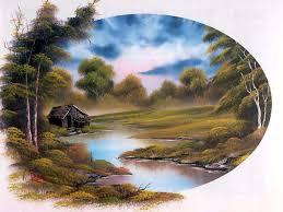 16 bob ross paintings