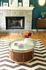 drum coffee table salvaged drum coffee table copper drum coffee table australia