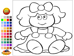 Small Picture Doll Coloring Pages For Kids Doll Coloring Pages YouTube