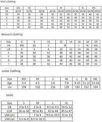 9 Size Chart Supreme Lacoste Size Chart Www