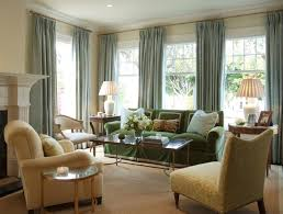 Window Treatment For Bay Windows In Living Room Nice Looking Large Living Room Window Treatment Ideas 14 Cool