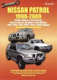 Nissan Patrol Petrol, Diesel (Incl. Turbo Models) 1998 - 2009 ...