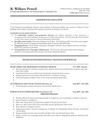 Teacher Resume Objective Examples Best Of Elementary Teacher Resume Objective RESUME