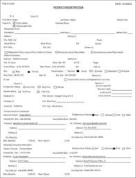 Medical Office Registration Form Templates Medical Office Note Template Ramauto Co