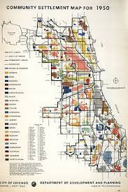 demographics map of chicago in 1950