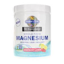 dr formulated whole food magnesium from garden of life is a delicious fizzy drink that will help calm and relax you leading to a good night s sleep