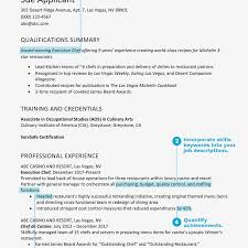 Examples Of Qualifications For Resumes Best Resume Examples Listed By Type And Job