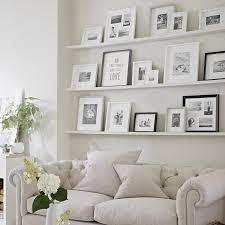 Living Room Decoration Accessories All White Picture Frame Arrangement Decor Home Decor