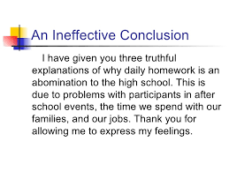 persuasive essay conclusions    ospi      an ineffective conclusion