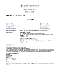 Shining Ideas How To Write A Simple Resume 7 How To Write A Basic
