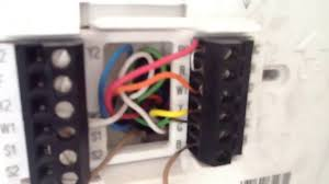 heat pump operation thermostat wiring heat pump operation thermostat wiring