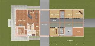 Horse Barn Plans With Living Quarters 5 Stalls  3 Bedrooms DesignBarn Plans With Living Quarters Floor Plans