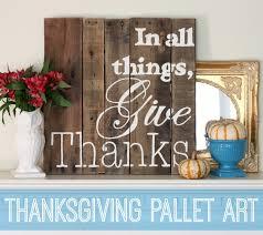 Pallet Art Pitterandglink Thanksgiving Pallet Art A Pallet Canvas Giveaway