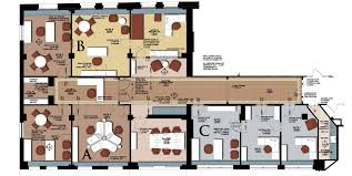 the office floor plan. Layout Executive Office Suite Floor Plans The Plan U