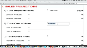 Financial Forecasting Excel Templates Profit Projections Selo Yogawithjo Co Business Plan Financial
