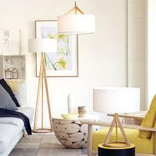 jacob oak floor lamp
