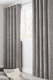 Gray and beige curtains Tan Textured Chenille Eyelet Lined Curtains Nextcouk Silver Curtains Silver Eyelet Lined Curtains Next Uk