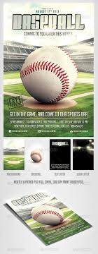Free Baseball Flyer Template Baseball Game Flyer Template Sports Events My Flyer