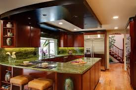 Modern u shaped kitchen layout