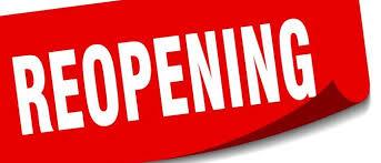 Reopening Plan - Mt. Calvary Baptist Church - Charleston WV