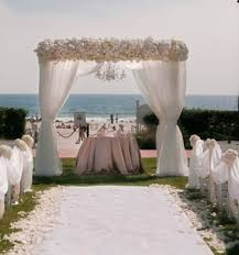 Beach Wedding Accessories Decorations elegant beach wedding decorationWedWebTalks WedWebTalks 15