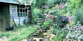 Rock Garden Design Ideas Custom River Rock Landscaping Ideas In Landscape Design Of Garden Edging
