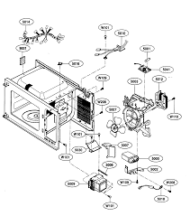 kenmore model 72166469500 countertop microwave genuine parts Kenmore Microwave Over the Range at Sears Microwave Diagram