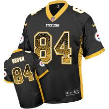 Jersey Premier Replica Antonio Jerseys Steelers Brown Official Authentic