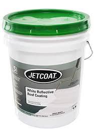 Jetcoat Cool King Elastomeric Acrylic Reflective Roof