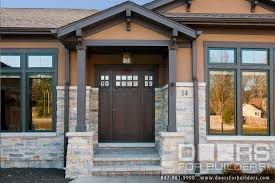 craftsman style front doorCraftsman Style Custom Front Entry Wood Door  Custom Wood Front