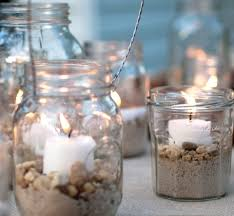 Decorating Ideas For Glass Jars Top Beach Jar Decor Ideas Beach Jar Jar Candle And Jar 41