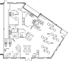 Salon Design  Space Planning Floor Plan Layouts For Salons Spas Floor Plans For Salons