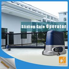 sliding gate operator with solar motor electric gate openers