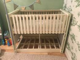 handmade by north east carpenter bespoke wooden crib