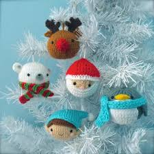 Crochet Decoration Patterns Christmas Balls Knit Ornament Patterns Christmas Angels