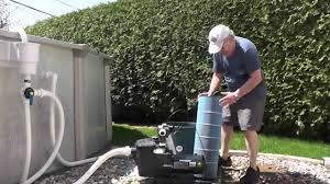 Nettoyage De Filtre De Piscine Cartouche Youtube