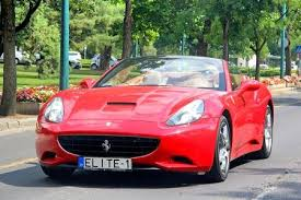 pink sports cars 2014. Simple Sports Budapest Hungary  July 26 2014 Red Sports Car Ferrari California In The To Pink Sports Cars 2014 O