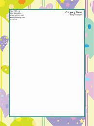 Letterhead Sample Word 50 Free Letterhead Templates Formats For Word Elegant Designs