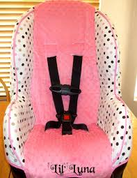 learn how to make a car seat cover with this super cute and easy car seat