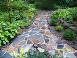 loose flagstone patio. Wonderful Patio Picture To Loose Flagstone Patio A