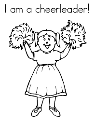Small Picture Coloring Pages Cheerleader Trend Cheerleader Coloring Pages 75 In