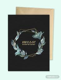 American Greetings Templates 44 Sample Greeting Card Design Templates Psd Ai Free