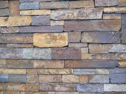 Decoración De Fachada Rústica Con Piedra Natural Efecto LadrilloFachada De Piedra Natural