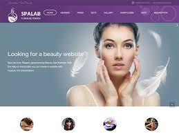 Hair Saloon Websites 40 Best Spa Beauty Hair Salon Wordpress Themes 2019
